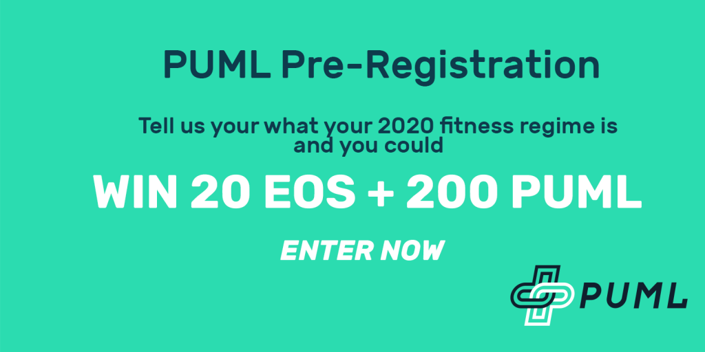 Win 20 EOS and 200 PUML