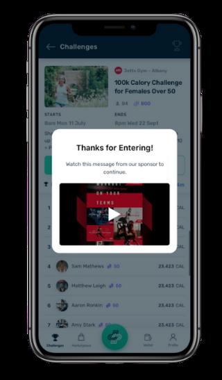 PUML Challenge Sponsor Screen