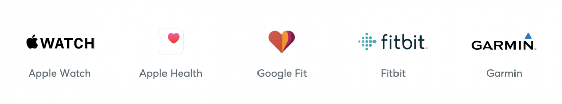 Apple Watch, Google Fit, Fitbit, Garmin